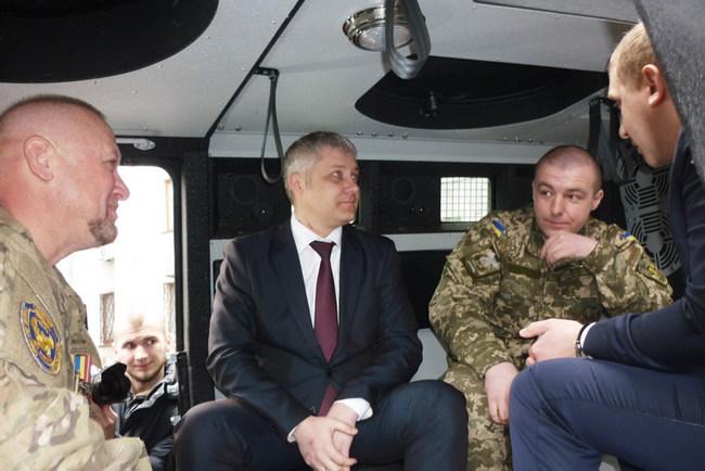 КрАЗ-Спартан реанимировали после обстрела