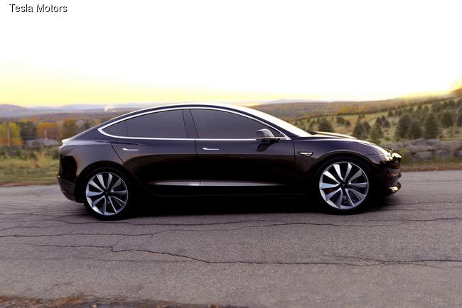 В США состоялась презентация Tesla 3