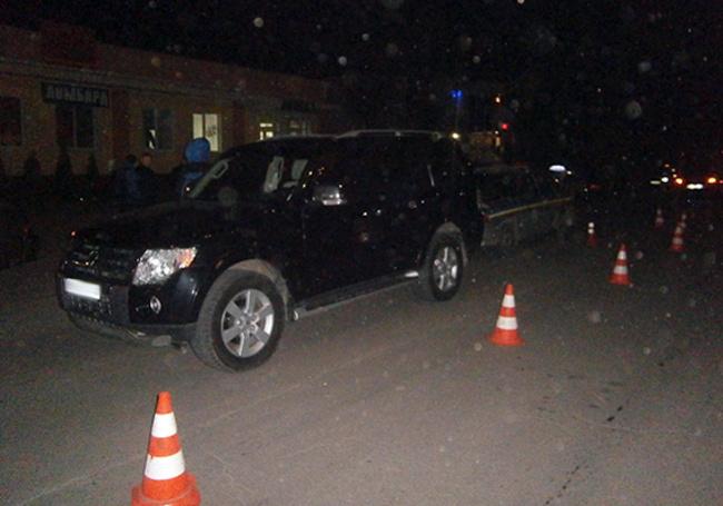 На автомобиль патрульной полиции напали из-за включенных маячков