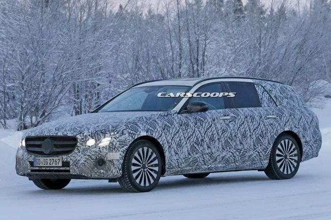 Mercedes-Benz E-Class Estate попался шпионам