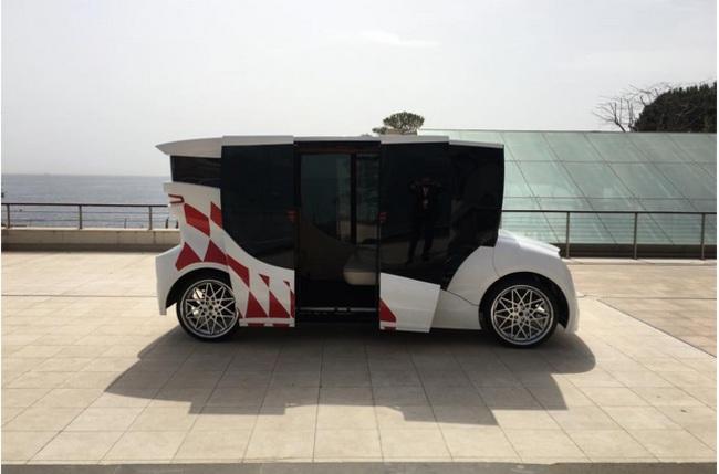 Первый украинский электромобиль Synchronous