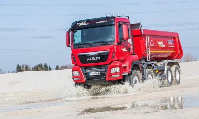 Ноу-хау грузовиков MAN на выставке Bauma 201