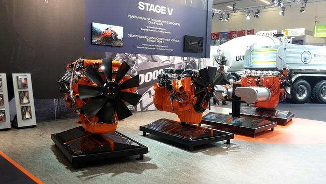 Scania на строительной выставке Bauma