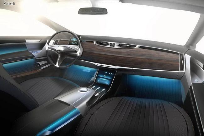 Российское ателье Cardi выпустит купе на базе Aston Martin