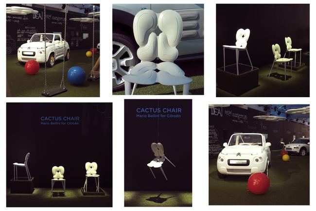 Стул Cactus Chair: Airbump на Миланской Неделе Дизайна 2016