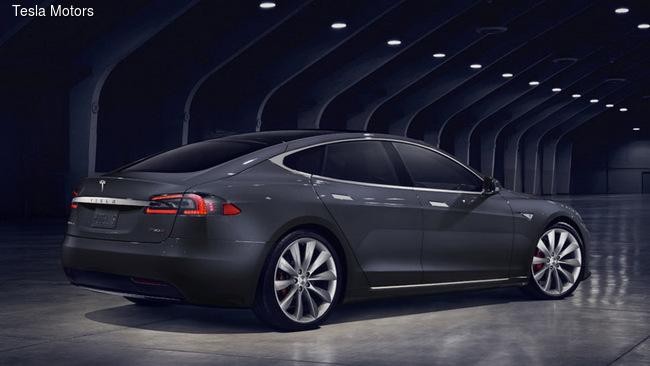 Tesla Model S поменяла внешность