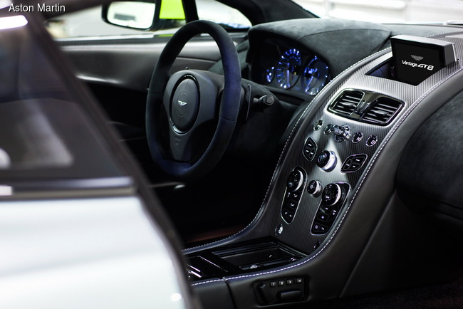 Aston Martin построил экстремальное купе V8 Vantage GT8 (+ВИДЕО)