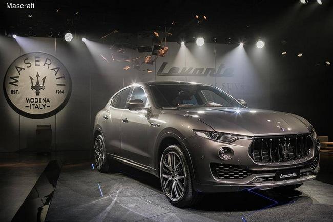 Объявлены украинские цены на новый SUV Maserati Levante