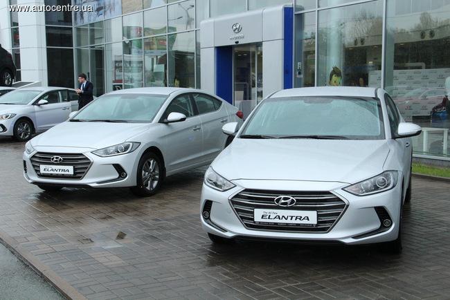 В Украине презентован новый Hyundai Elantra