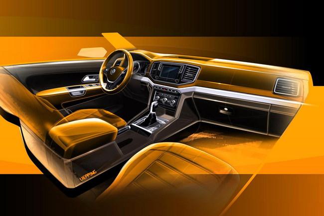 Первые изображения нового Volkswagen Amarok