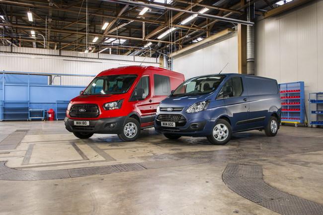 Двигатель EcoBlue будет доступен на развозных моделях Transit и Transit Custom