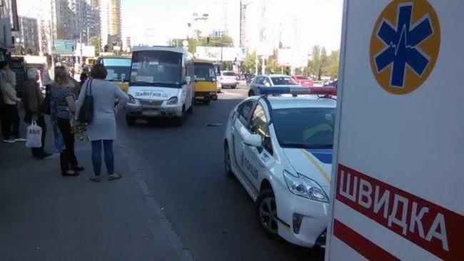 Донецкие маршрутчики подрадись с киевскими