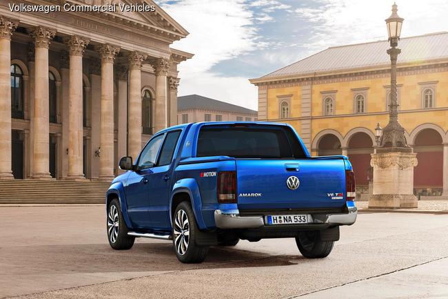 Volkswagen Amarok получил новую турбодизельную «шестерку»