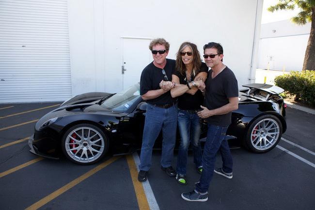 Фронтмен Aerosmith Стивен Тайлер продаст свой суперкар