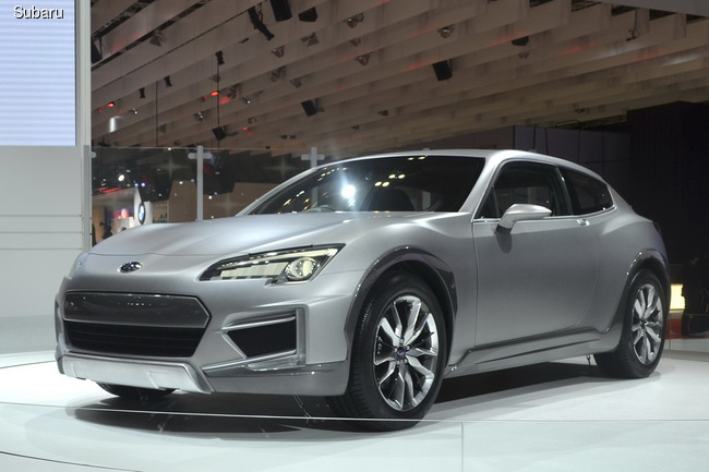 Subaru Cross Sport Concept представили на биенале в Токио в 2013 году