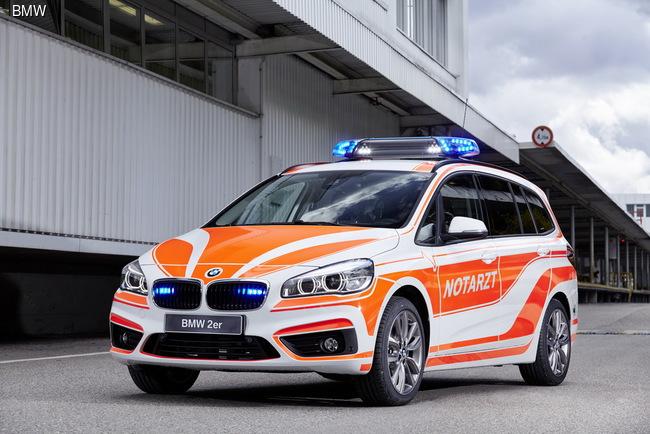 BMW представила спасательную технику на выставке RETTmobil 2016