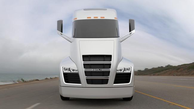Газоэлектрический грузовик Nikola One: километр – за полцены