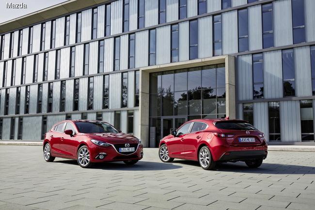 Mazda 3 получила новый турбодизель