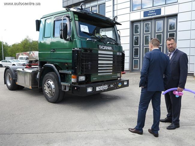 125-летие Scania отметили выставкой интересных грузовиков