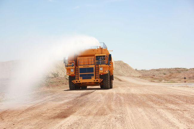 Для Королевства Марокко ОАО «БЕЛАЗ» изготовил гигантскую поливооросительную машину БЕЛАЗ-76135