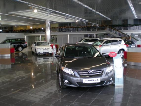 Тойота Центр Киев «Автосамит на Столичном»