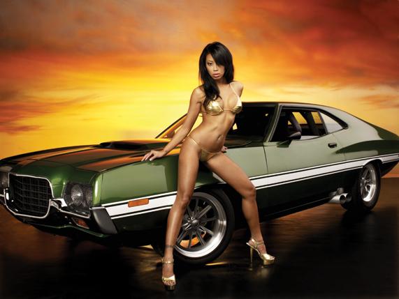 Ford Gran Torino 1972 года