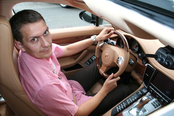 Андрей Волощенко Porsche Panamera