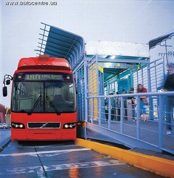 Компания Volvo Bus создала автобус на 240 человек!