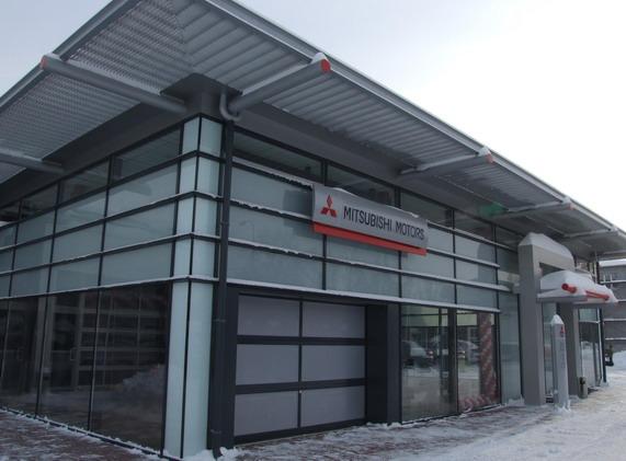 дилерский центр Mitsubishi Motors