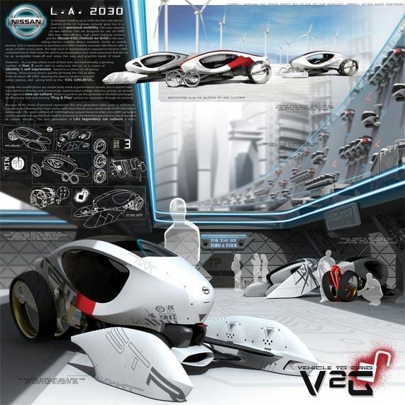 Nissan V2G 2030