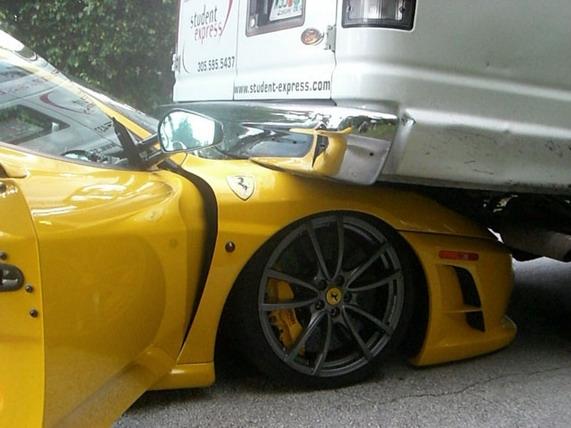 ДТП с участием Ferrari F430 Scuderia
