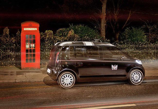 Volkswagen EV Taxi Concept