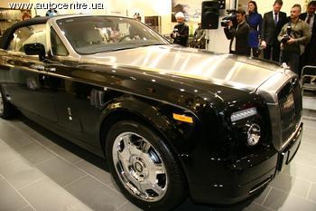 В Киеве открылся единственный в Украине официальный салон Rolls-Royce