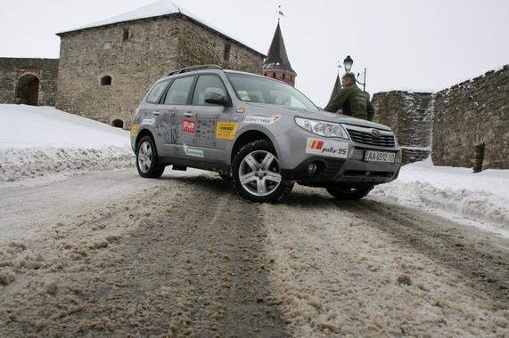 Пробег «10000 км за 10 дней на Subaru Forester»