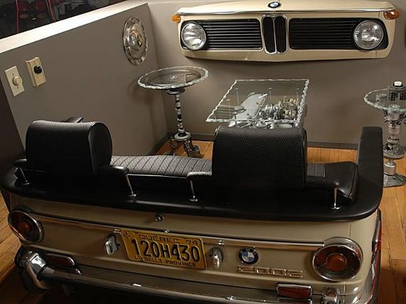 «Квартира в стиле BMW»