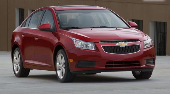 Chevrolet Cruze,старт продаж в Украине