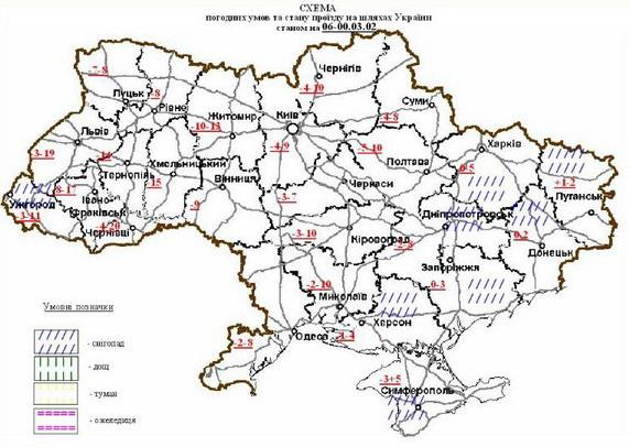 автодороги Украины,покрытие автодорог
