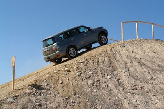новый Nissan Patrol