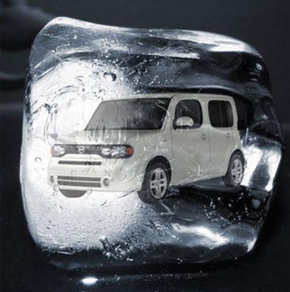 инсталляции Nissan Cube