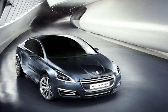 Женевский автосалон: Peugeot 508