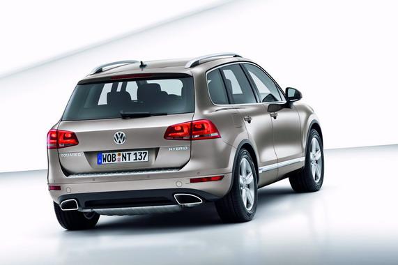 Женевский автосалон: Volkswagen Touareg