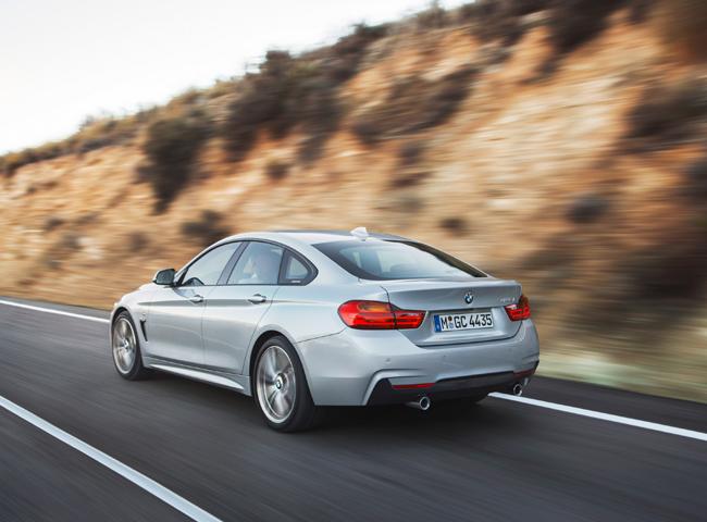Новый BMW 4-Series GranCoupe