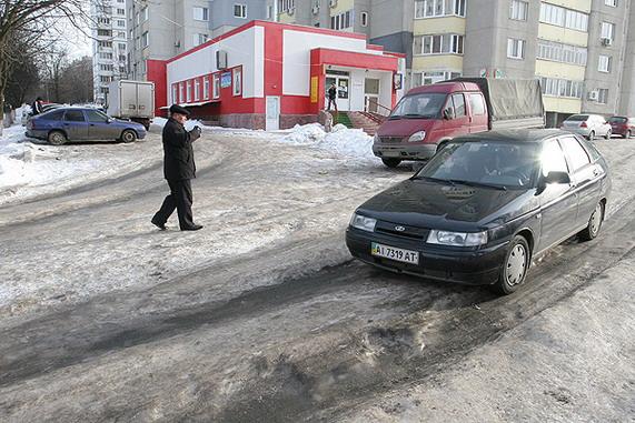 дороги,дворовое проезды,Киев,расчистака от снега