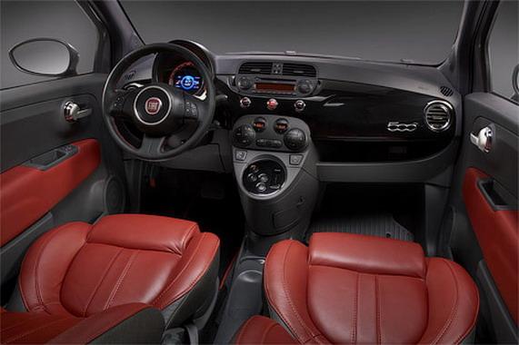 Электрокар Fiat