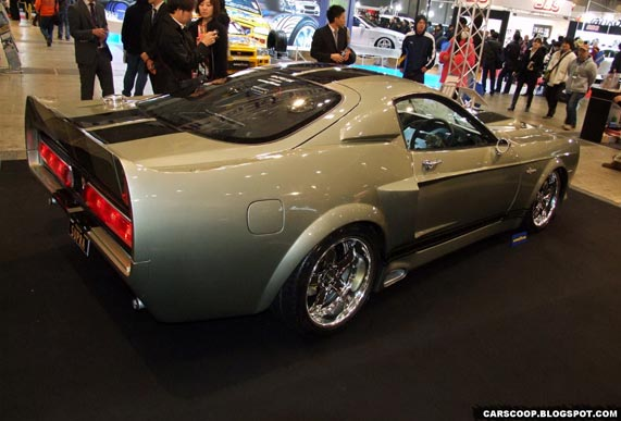 Ford Mustang Shelby GT500 Eleanor (Toyota MR2)