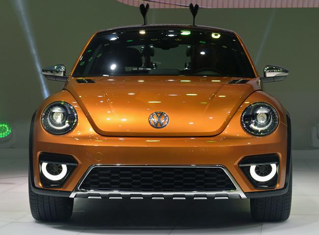 Автосалон в Детройте 2014: новый Volkswagen Beetle Dune