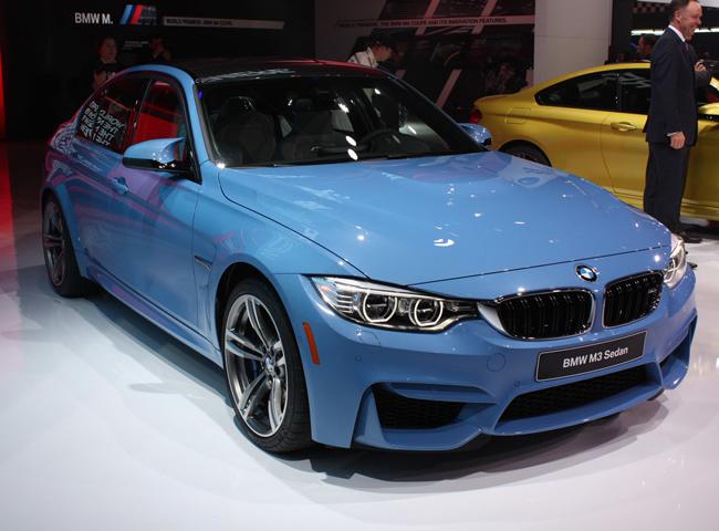 Автосалон в Детройте 2014: новые BMW M3 и BMW M4