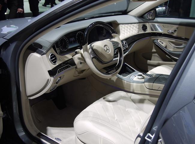 Автосалон в Детройте 2014: новый Mercedes S600