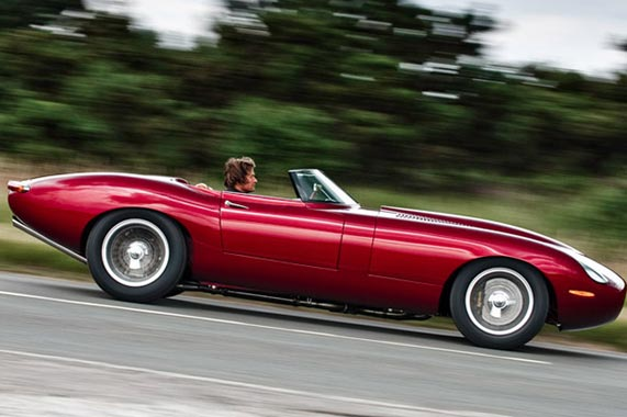 Jaguar E-Type Speedster 1966