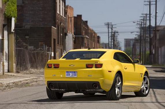 Chevy Camaro Transformers Special Edition 2010